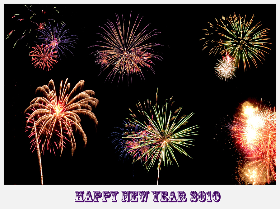 Happy New Year 2010 by David-A-Wagner
