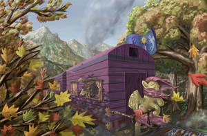 The Autumn Express by MoreVespenegas