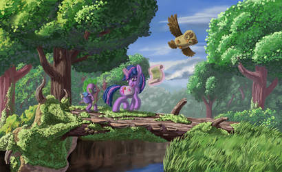 Everfree Expedition by MoreVespenegas