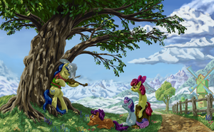 Under the Oak by MoreVespenegas