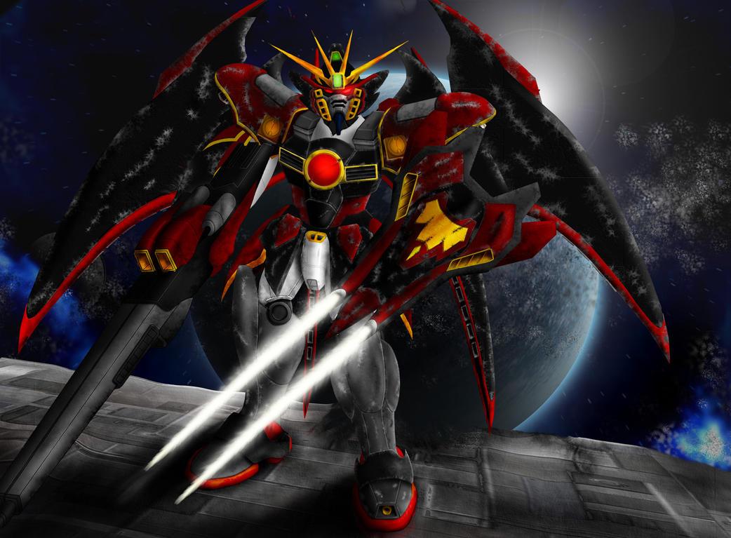 Gundam Wings Shadow Art Inspiration Wallpapers