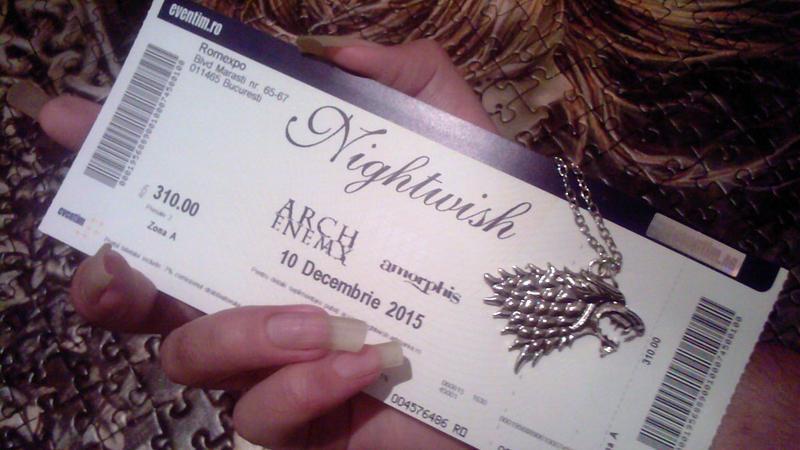 NightwisH is CominG by GLORIPEACE