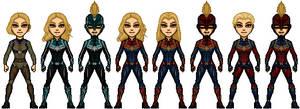 Marvel Studios' Captain Marvel by billanesc