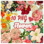 FlowersVintage PNG #1