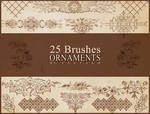 Ornaments Brushes - Icetaem