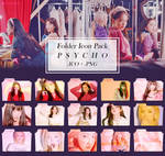 Red Velvet PSYCHO | Folder Icons by Icetaem