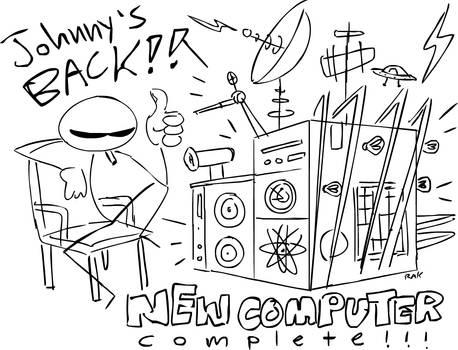 Johnny Rocketfingers is BACK!!