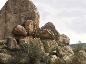 Rocks by MangoOfMangolia