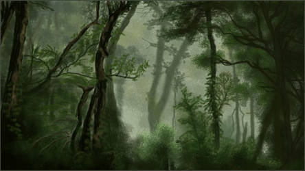 Woods by MangoOfMangolia