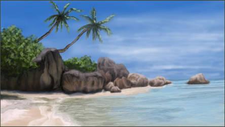 Beach by MangoOfMangolia