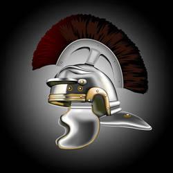Roman Helmet by MangoOfMangolia