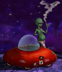 Regal - the Alien by MangoOfMangolia