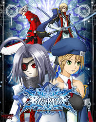 BlazBlue Cover Concept