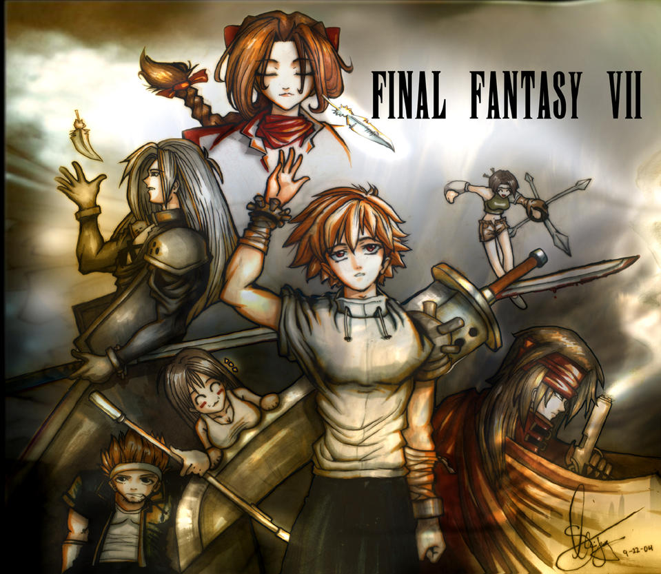 Final Fantasy VII by RainChilD18