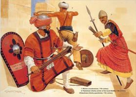 palestinian warriors by byzantinum