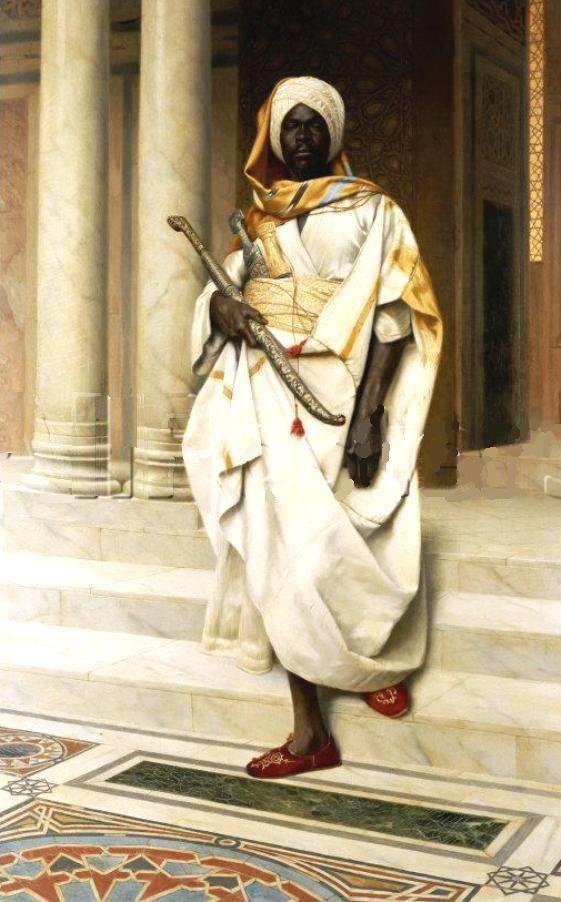 african warrior by byzantinum