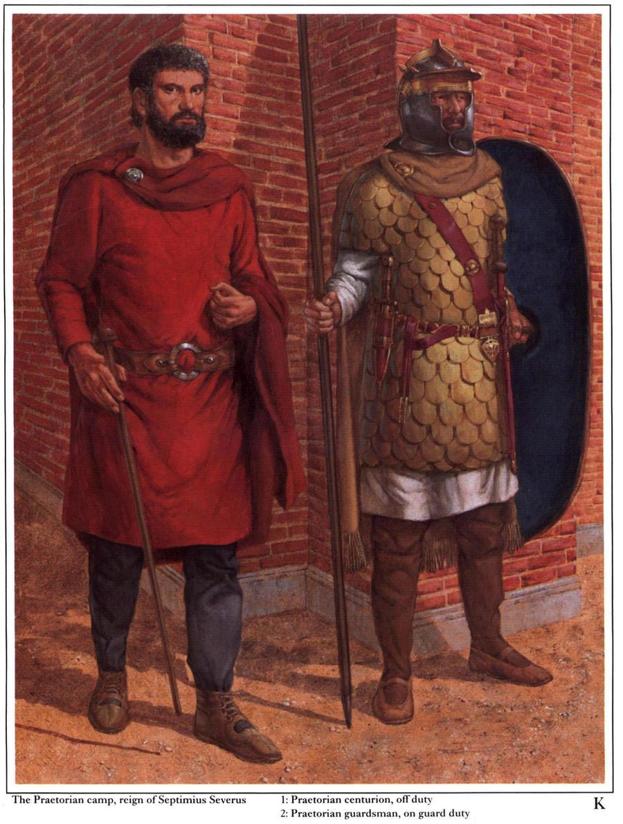 roman warriors by byzantinum
