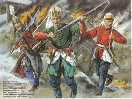 ottoman warriors by byzantinum