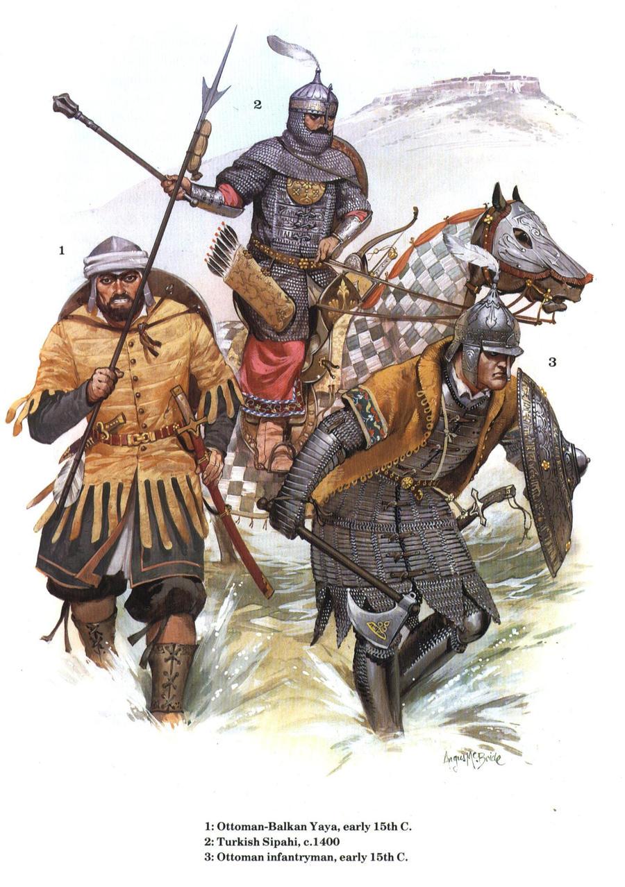 ottoman army by byzantinum