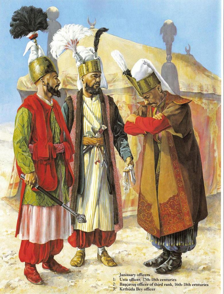 mughal vs ottoman