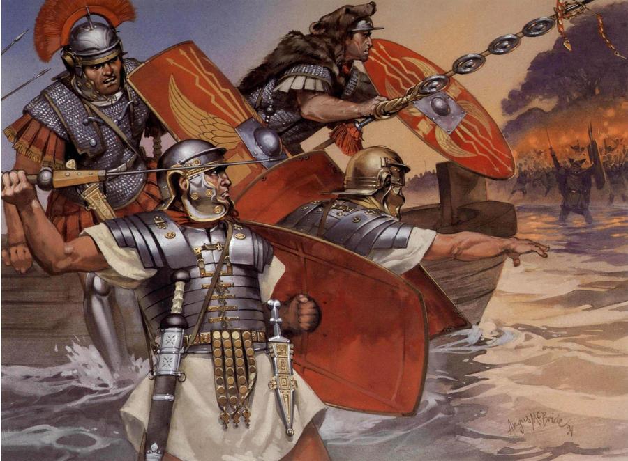 roman army by byzantinum
