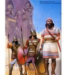 assyrian warriors