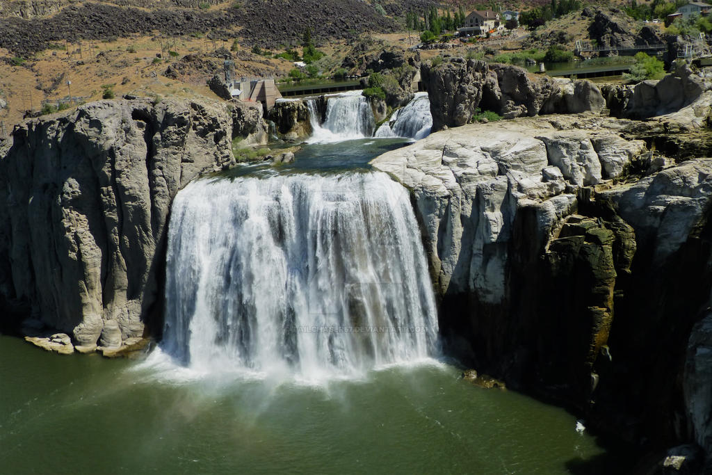 Shoshone Falls By Tailchaser57 On DeviantArt