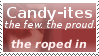 Candy-ites stamp