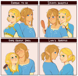 Zelink hairstyles, an essay.