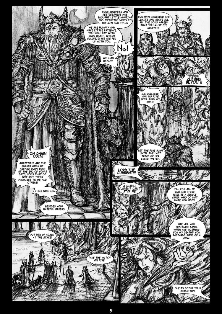 The Legends of Asgard: Pag5 by nemurutenshi-yue