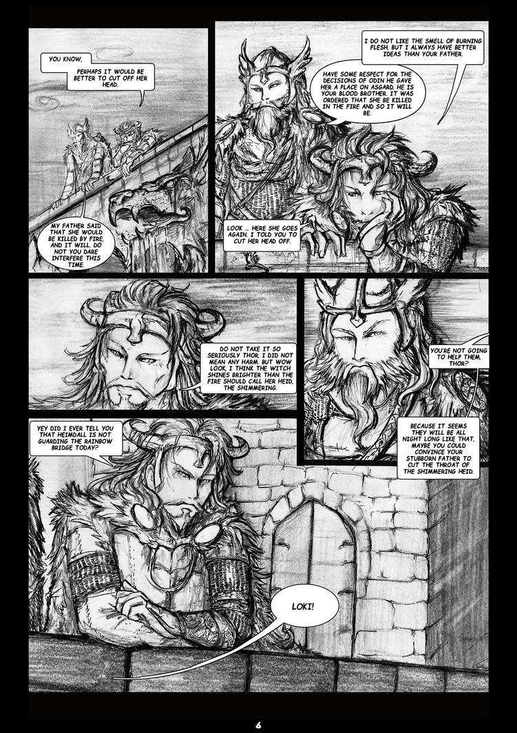The Legends of Asgard: Pag6 by nemurutenshi-yue