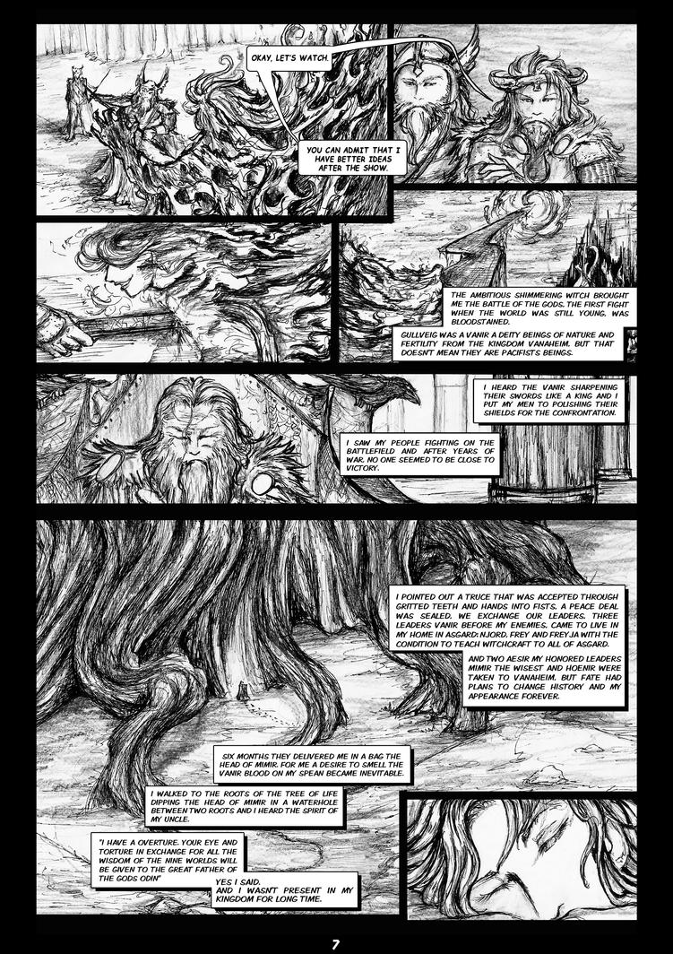 The Legends of Asgard: Pag7 by nemurutenshi-yue