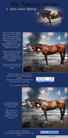 The Tutorial Horse- 4. Basic lighting