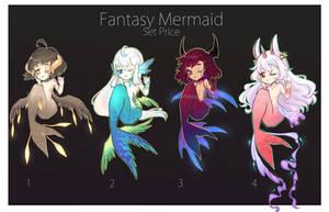 [CLOSED]  Fantasy Mermaid