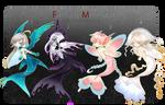 [OPEN4/4] AUCTION Fantasy Mermaid02 by WhiteLie-Adopt