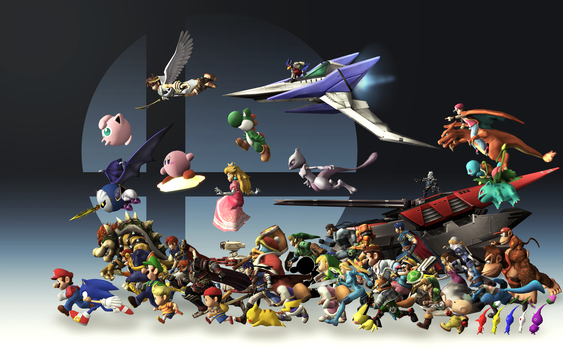 Super Smash Bros Generations Wallpaper By Tailsmiles249 On
