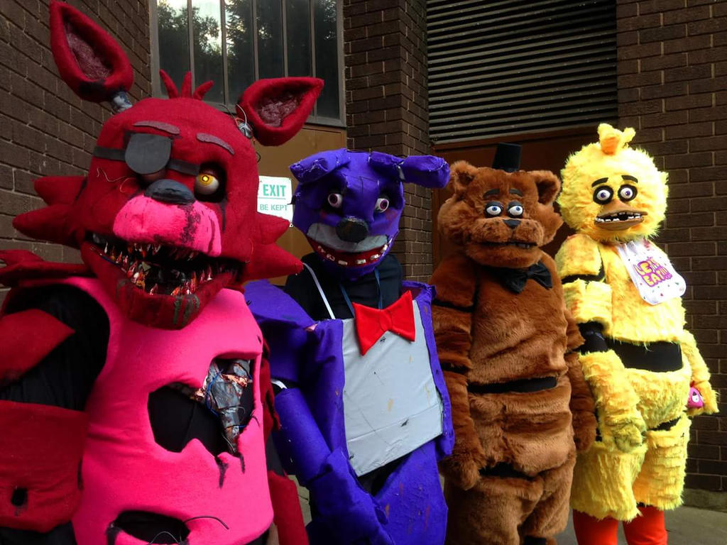 Five Nights At Freddys Group by Koiice