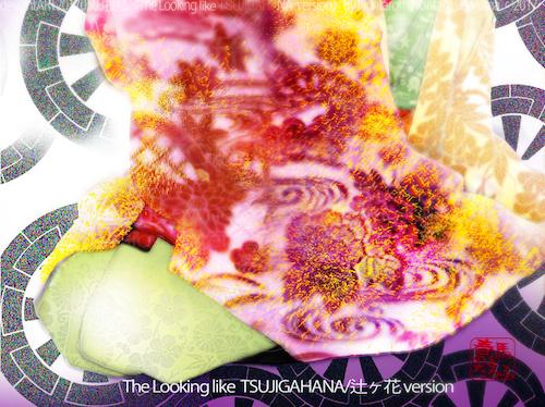 The looking like TSUZI-GA-HANA version by Nontaroff