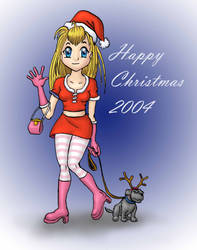 Christmas Greetings 2004 by D-Type
