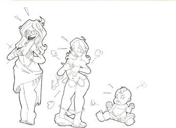 Baby Blanket Beach Party by Schnopszilla