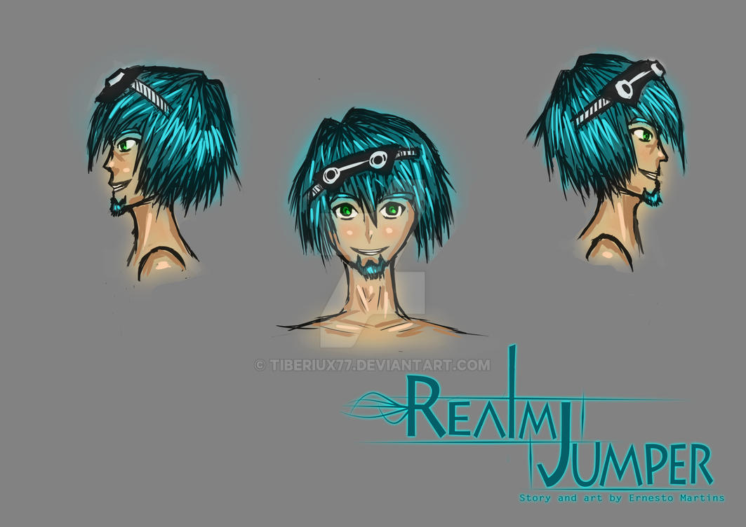 Realm Jumper : Main Character by tiberiux77