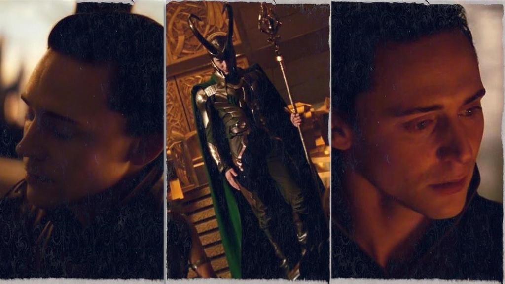Loki Of Asgard Collage by AMBERELLEN