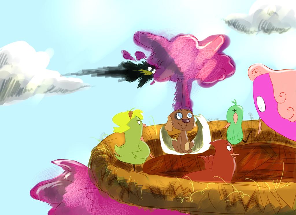 Welcome to the nest by akatsukimembersasori