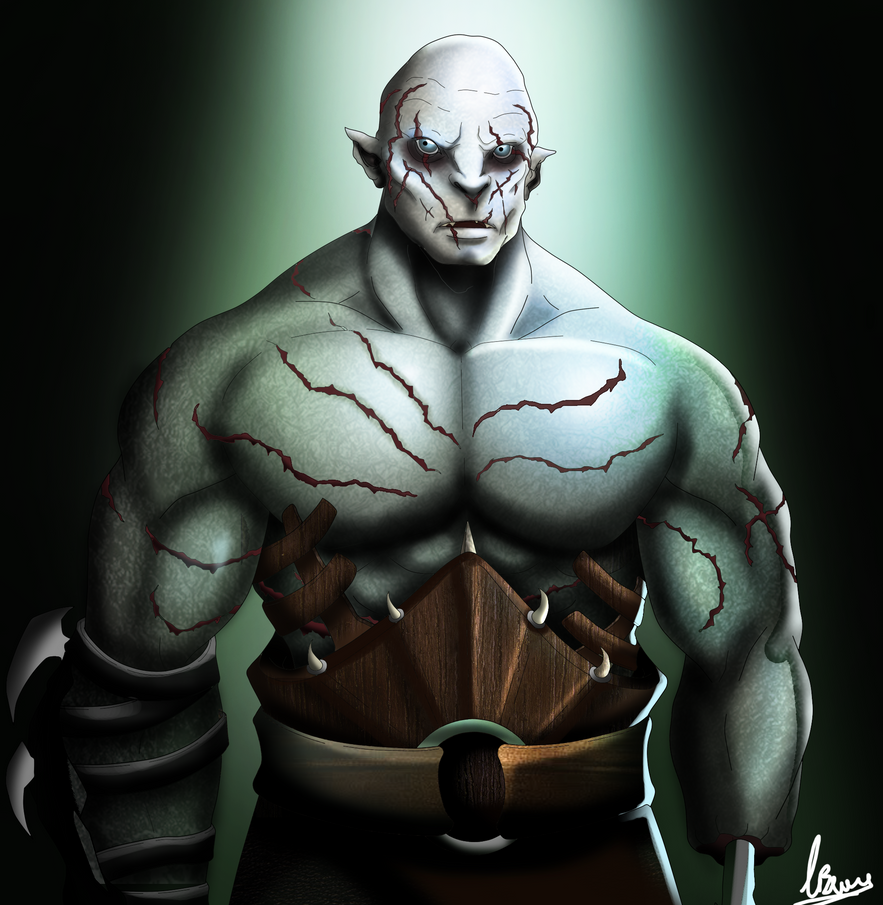 Azog the defiler by BourneLach