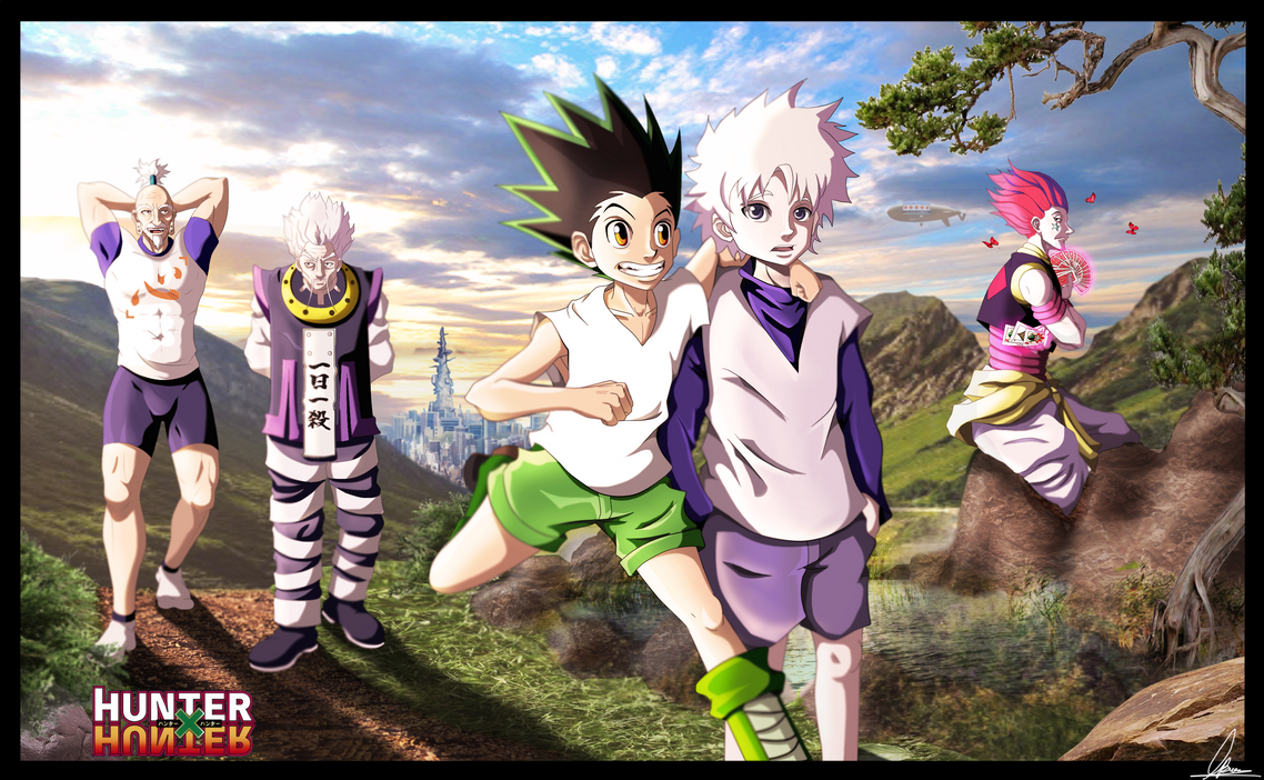 Hunter X Hunter Poster by BourneLach