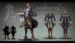 Steampunk time traveler: Robot butler by BourneLach