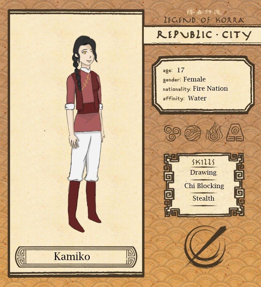 Republic City: Kamiko by addicted2tea