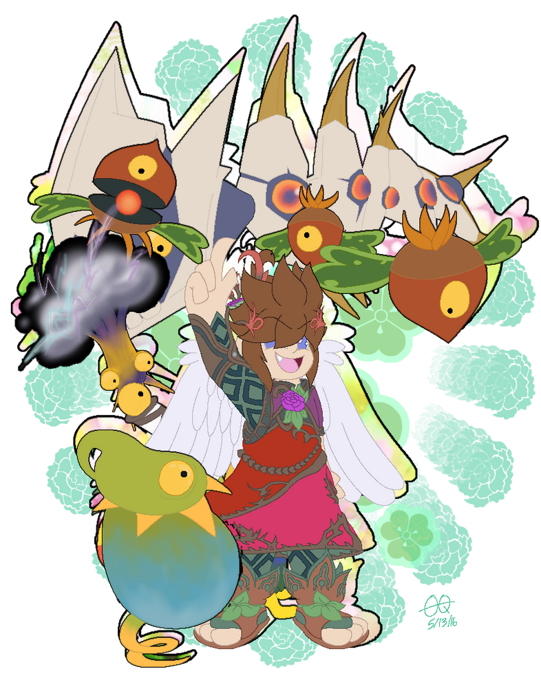 CONTEST ENTRY Pit The God Of Nature By Artist21025