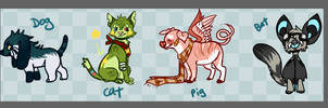 assorted adopts { open } by meteorcrash