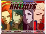 Killjoys - The fabulous four